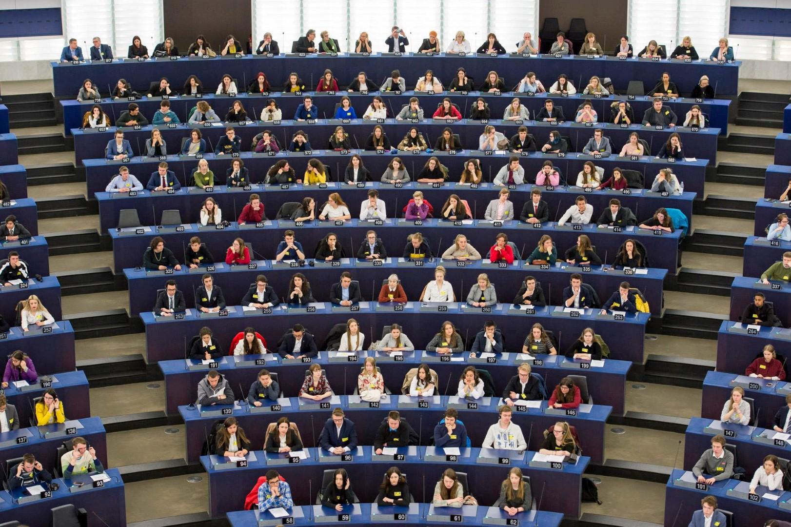 Gimnazistai Europos parlamente (4)