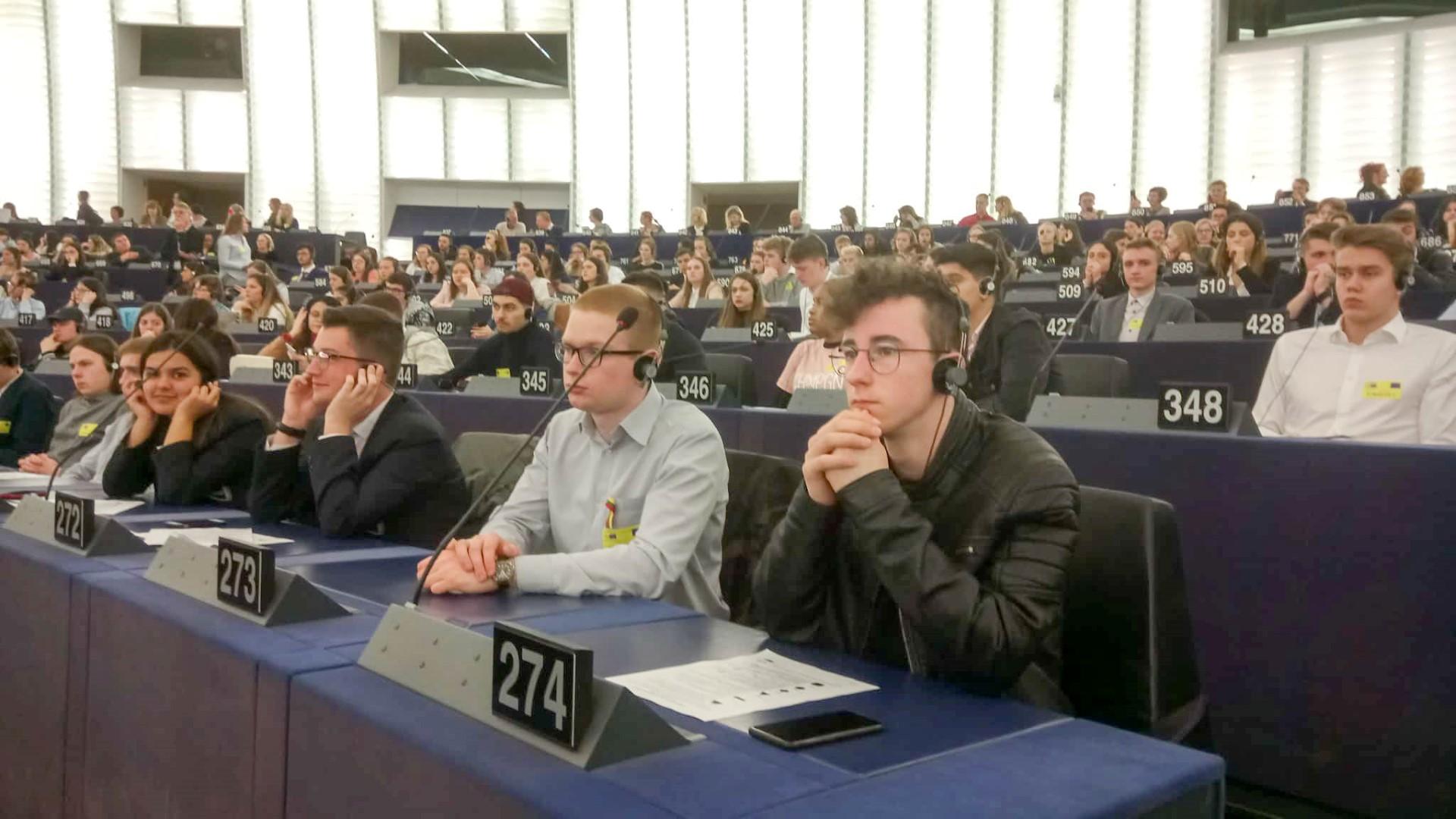 Gimnazistai Europos parlamente (9)